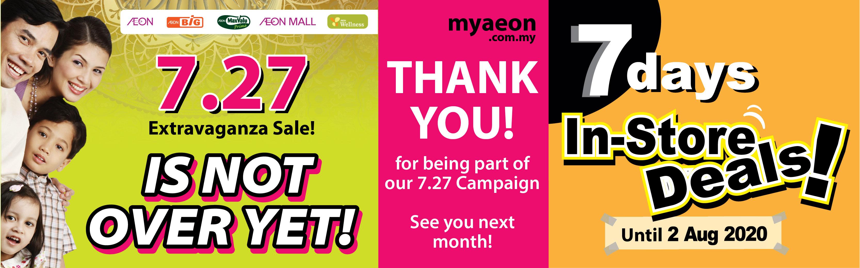 MyAEON will be back